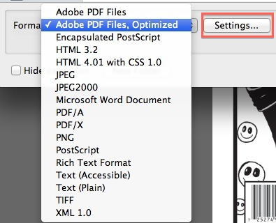 New Issue PDF - save as optimized